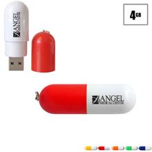 Capsule USB Flash Drive, 4GB