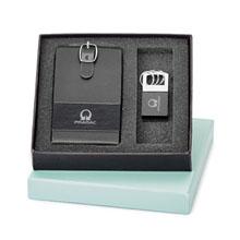 Luggage Tag & Key Ring Gift Set