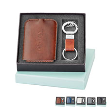 Fabrizio Luggage Tag & Key Ring Gift Set