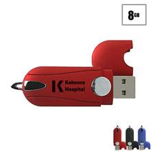 Austin USB Flash Drive, 8GB