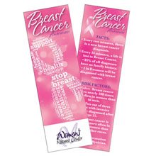 Breast Cancer Awareness Bookmark