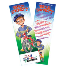 Bike Safety Bookmark