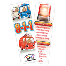 Call 9-1-1 Bookmark