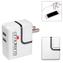 Dual USB Port AC Mobile Charger