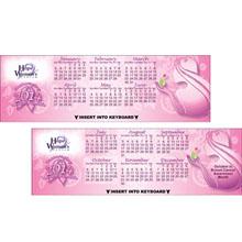 Women's Health Keyboard Calendar