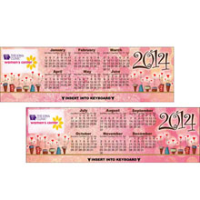 Fun Flower Pots Keyboard Calendar