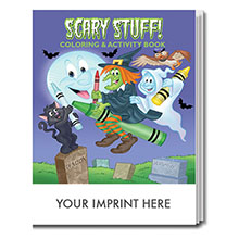 Scary Stuff Coloring & Activity Book