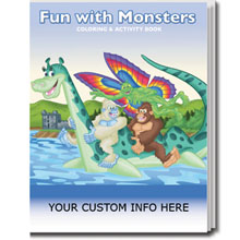 Fun with Monsters Coloring & Activity Book