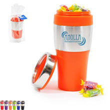 Avondale Silver Streak Tumbler Gift Set w/ Jolly Ranchers, 16oz.