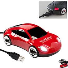 Sports Car 4-Port USB Hub