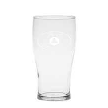 Deep Etched Pub Glass, 16oz.