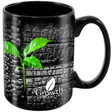 ColorBurst™ Black Stoneware Magna Mug, 15oz.