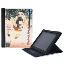 ColorBurst™ Neoprene iPad® Cover w/ Stand