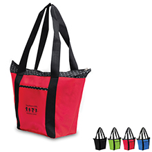 Anna Marie Polka Dot Tote - Free Set Up Charges!