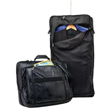 Leather Valet Garment Bag