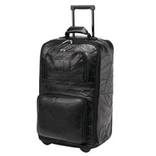 Legacy Leather Rolling Carry-On