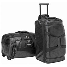 Express Leather Rolling Duffel