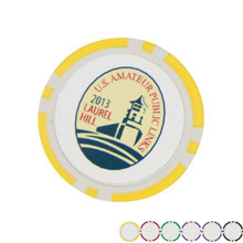 Clay Poker Chip Ball Marker