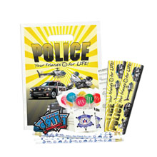Budget Beater Police Open House Kit Your Friends for Life Theme, Stock