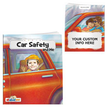 Car Safety & Me All About Me Book