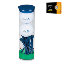 Callaway® HEX Warbird 2 Ball Tube w/ Tees