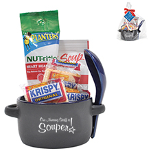 "Appreciation Soup to Nuts Mug Gift Set, ""Our Nursing Staff Is Souper!"" Design, Stock"
