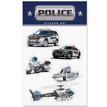 Police Sticker Sheet, Stock