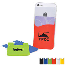 Econo Silicone Mobile Device Card Holder