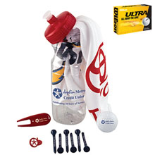 Basic Cart Caddie Kit w/ Wilson® Ultra Golf Ball