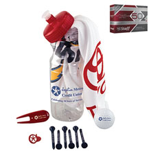 Basic Cart Caddie Kit w/ Wilson® Staff Duo Golf Ball
