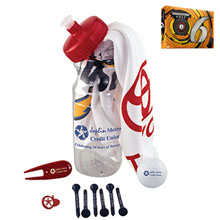 Basic Cart Caddie Kit w/ Bridgestone® E6 Golf Ball