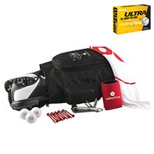Deluxe Shoebag Golf Kit w/ Wilson® Ultra Golf Balls