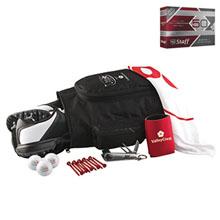 Deluxe Shoebag Golf Kit w/ Wilson® Duo Golf Balls