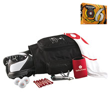 Deluxe Shoebag Golf Kit w/ Bridgestone® E6 Golf Balls