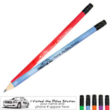 I Visited the Police Station Mood Pencil