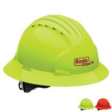 Evolution 6161 Full Brim Hi-Vis Hard Hat