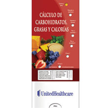Calculating Carbs, Fat and Calories Pocket Sliders™ (Spanish Version)