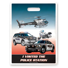 I Visited the Police Station Full Color Litterbag, Stock - Closeout!