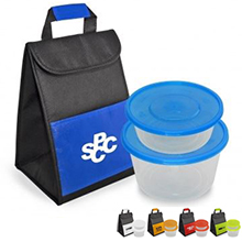 Insulated Lunch-to-Go Cooler & Container Set