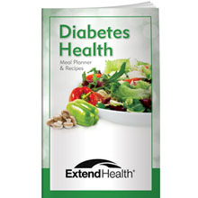 Diabetes Health: Meal Planner and Recipes Better Book™