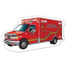 Ambulance Die-Cut Car Magnet