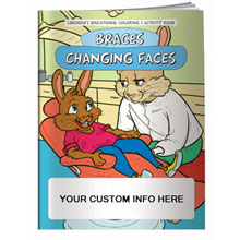 Braces Changing Faces Coloring Book
