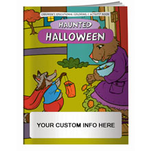 Halloween Haunted Holiday Coloring Book