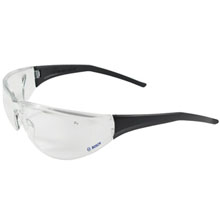 Bouton Tranzmission Clear Anti-Fog Safety Glasses