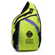 Limited Edition Lime Cross Laptop & Electronics Deluxe Sling - Closeout, On Sale!