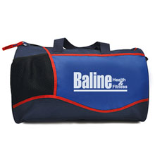 "Limited Edition Royal/Navy Cross Sport Duffel, 17"" - Closeout, On Sale!"