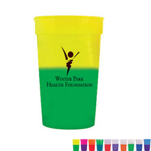 Mood Color Changing Stadium Cup,  22oz., BPA Free