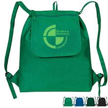 Fold-Up Drawstring Cooler Backpack