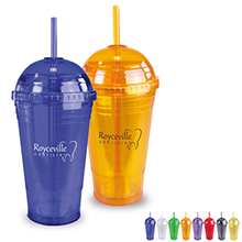 Sub-Zero Tumbler w/ Dome Lid, 16oz., BPA Free - Free Set Up Charges!
