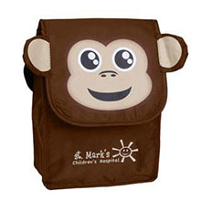 Paws N Claws Lunch Bag - Monkey - Free Set Up Charges!